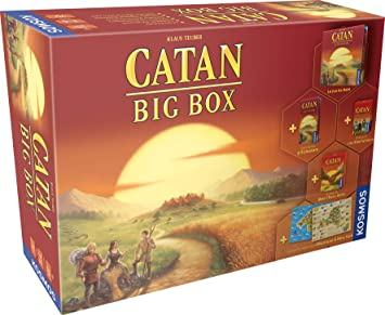Asmodee- Catan: Big Box, FICATBB01, Juego Familiar: Amazon.es ...