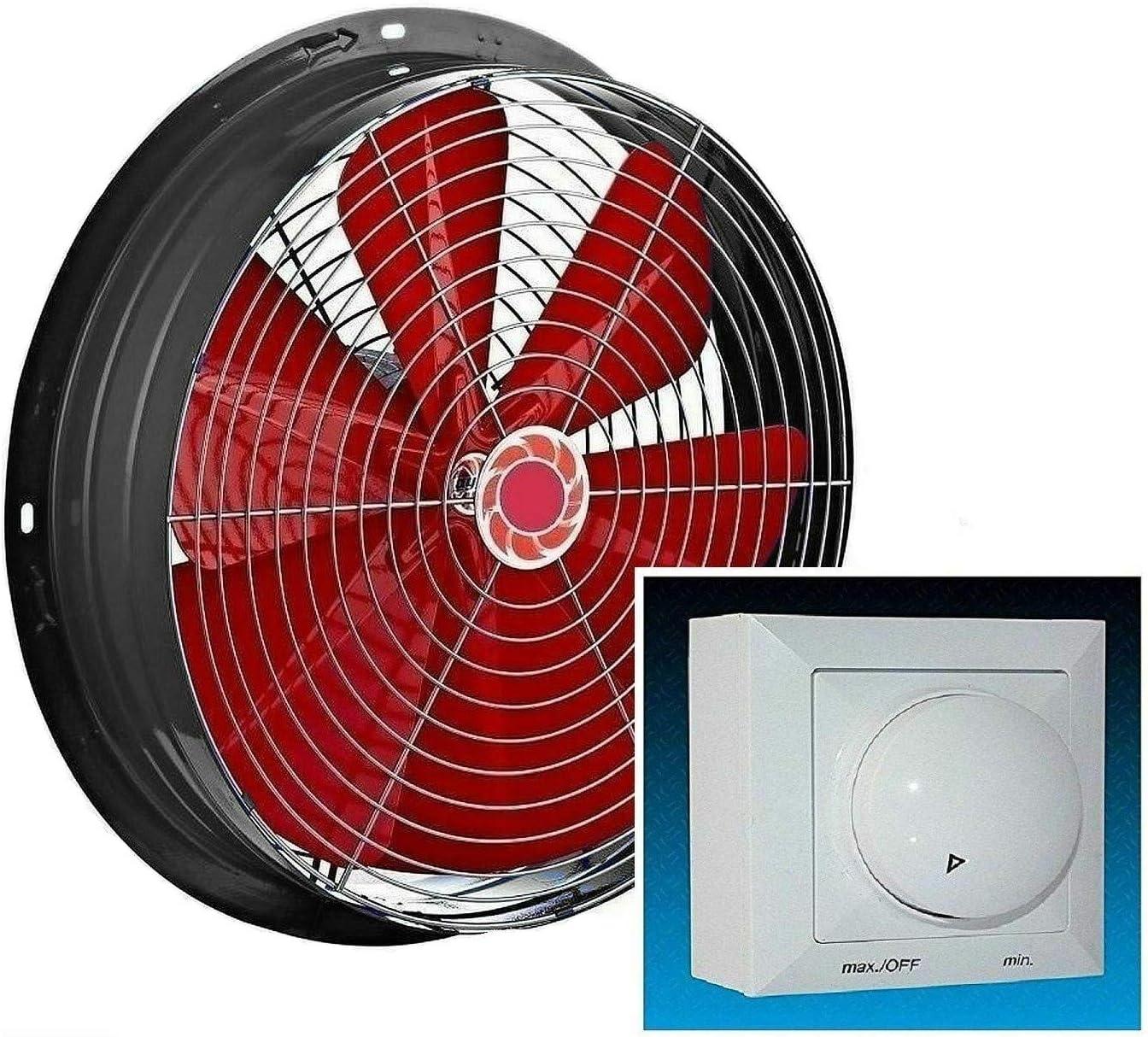 550mm Ventilador industrial con 500W Regulador de Velocidat Ventilación Extractor Ventiladores ventiladore industriales Axial