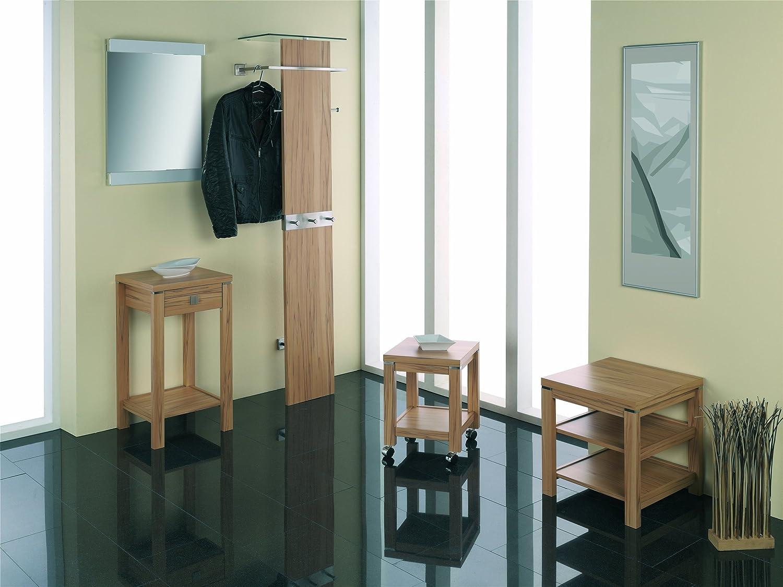 HAKU Möbel x 42714 2-Satz-Tisch 33 46 x Möbel 30 35 x 35 43 cm, kernbuche d678c1