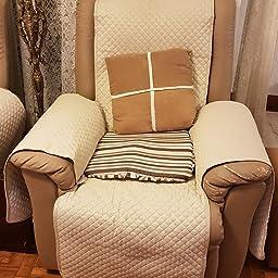 textil-home Funda Cubre Sillón Relax Adele, Tamaño 1 Plaza ...