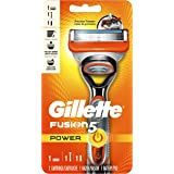 Gillette Fusion5 Men's Razor Power Handle + 1 Blade Refill