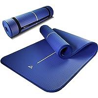 PROIRON Pilates matta kantskydd halkfri yogamatta träning extra tjock skummatta fitness träningsmattor hem gym med…