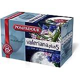Pompadour - Té de valeriana plus 5 - 20 bolsitas (40 g) - [
