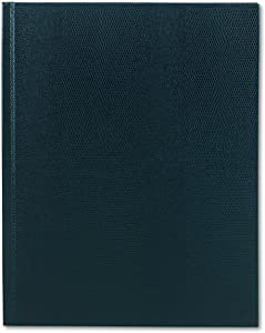 Blueline Large Executive Notebook, College/Margin, 11 x 8.5 inches, Blue Cover, 150 Sheets (A1082)