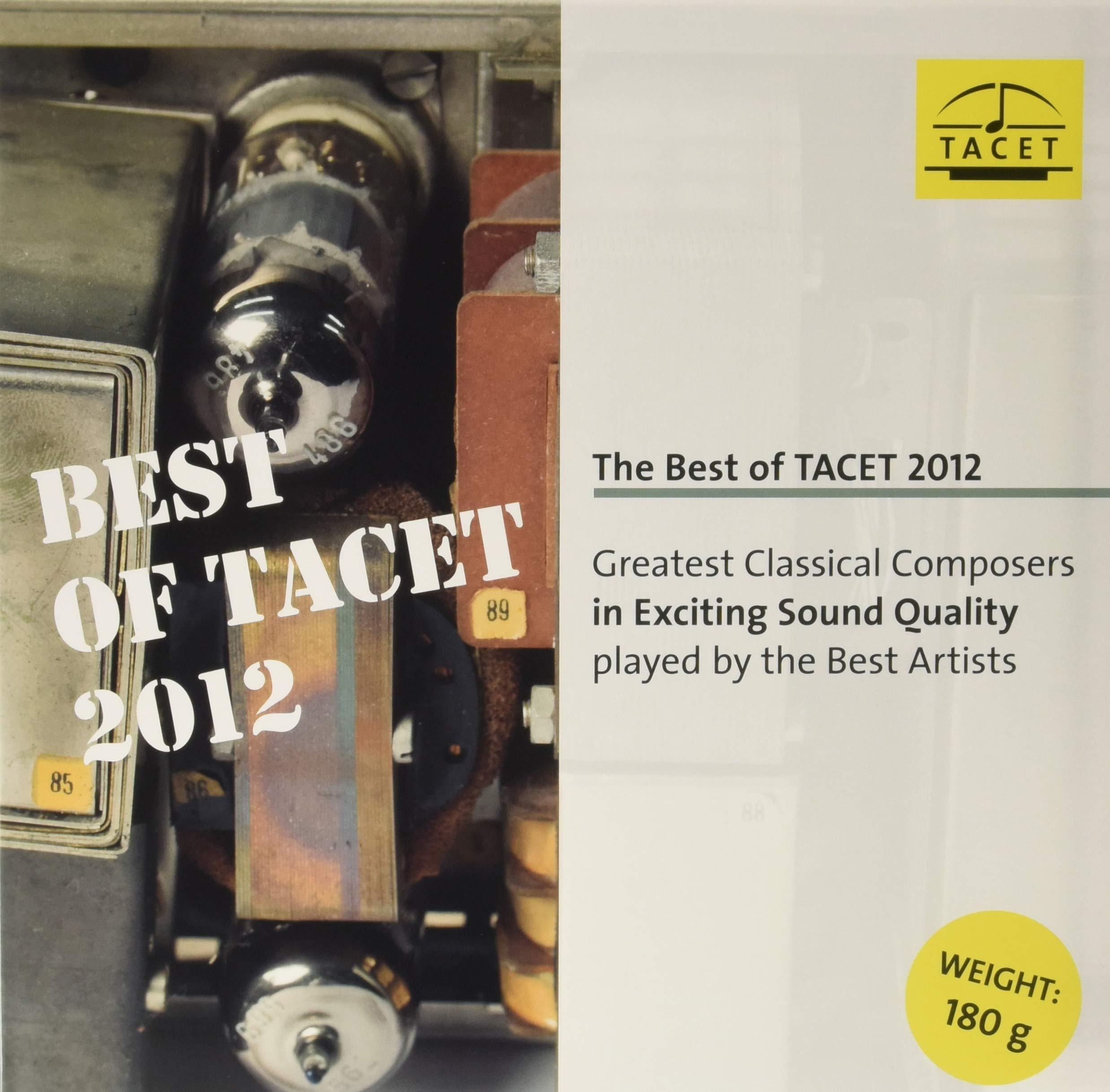 Vinilo : VARIOUS - Best Of Tacet 2012 (LP Vinyl)