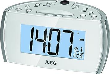 AEG MRC 4119 P – Reloj de proyección Radio: Amazon.es ...