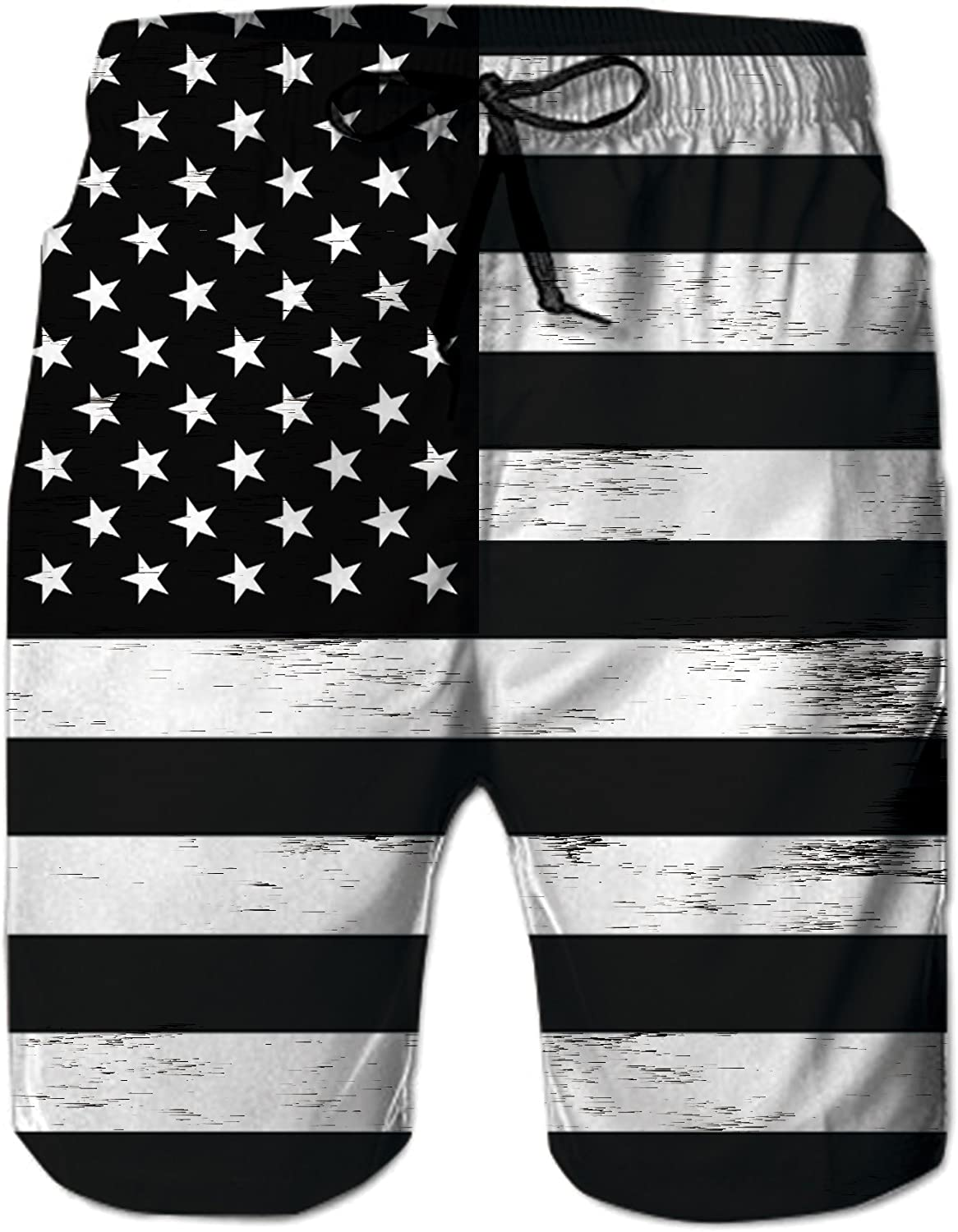 Funny All You Need is Love Womens Sport Beach Swim Shorts Board Shorts Swimsuit with Mesh Lining