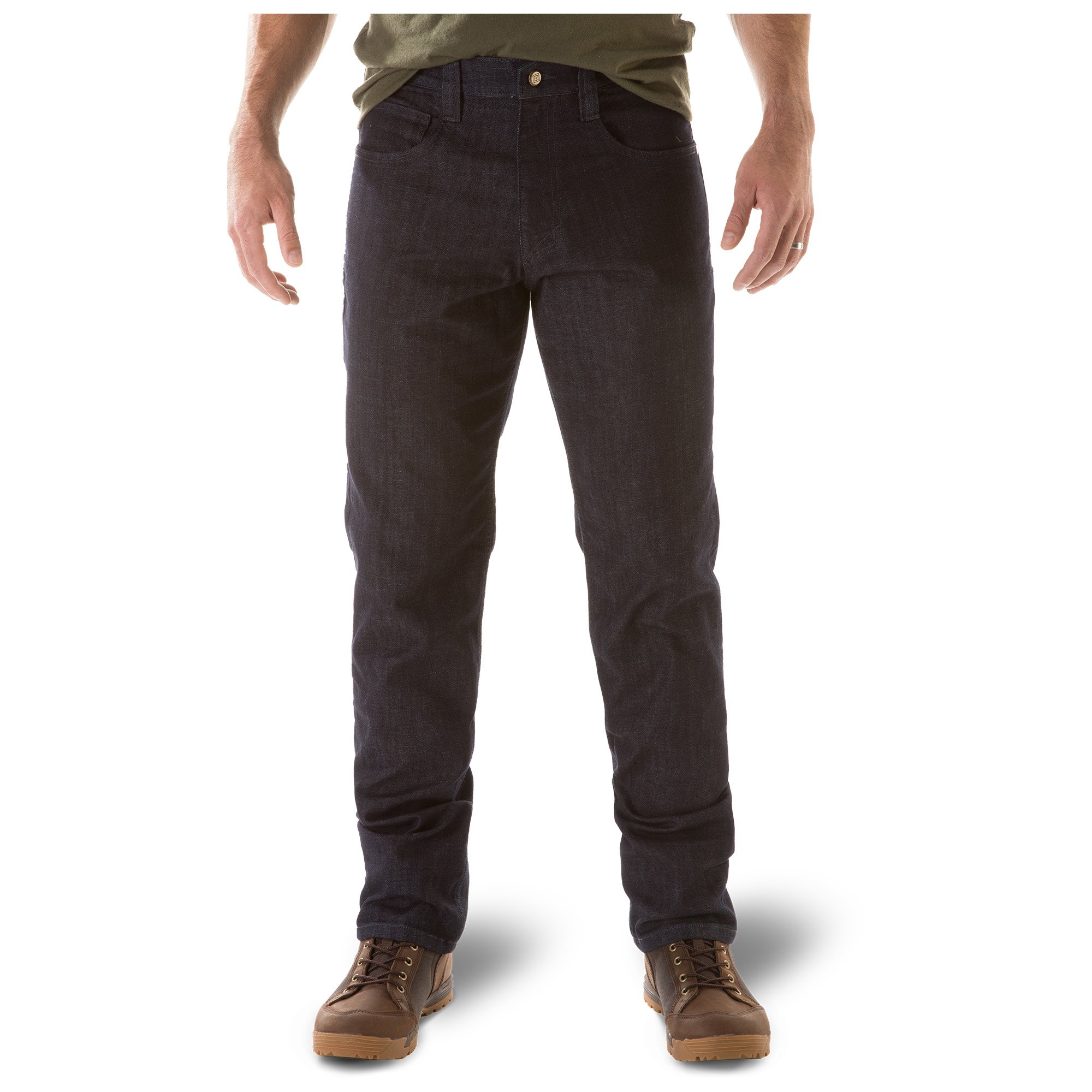 5.11 Mens Defender-Flex Jean Slim Fit Tactical Pant, Sytle 74465, Indigo, 30Wx30L by 5.11
