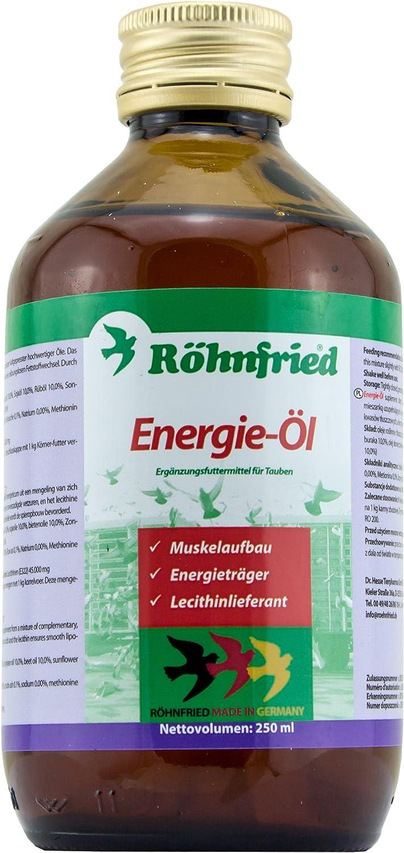 Röhnfried Energie-Öl - für einen reibungslosen Fettstoffwechsel bei Tauben (250 ml)