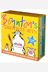 Boynton's Greatest Hits Volume 1: Blue Hat, Green Hat; A to Z; Moo, Baa, La La La!; Doggies (Boynton Board Books) Board book