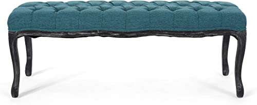 Christopher Knight Home Cytheria Tufted Diamond Dining Bench