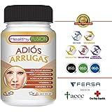 ADIÓS ARRUGAS - Colágeno Puro Hidrolizado de Nueva Generación + Ácido Hialurónico asimilado + Coenzima Q10