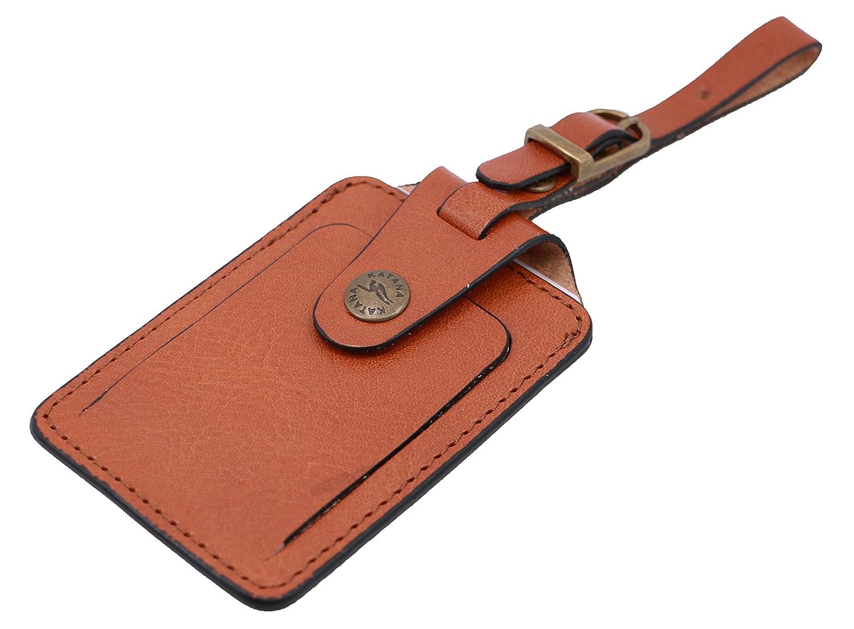 KATANA leather laggage tags