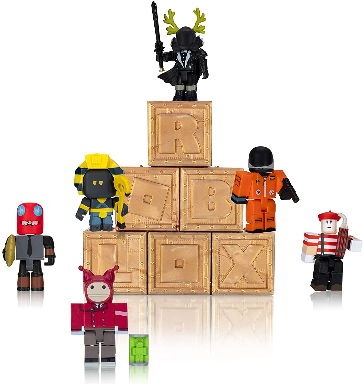 Roblox Jailbreak Copper Key Codes Roblox Free Backpack Amazon Com Roblox Action Collection Series 8 Mystery Figure 6 Pack Includes 6 Exclusive Virtual Items Toys Games