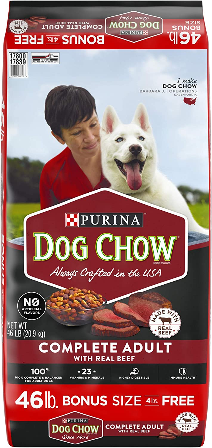Real Beef Adult Dry Dog Foods