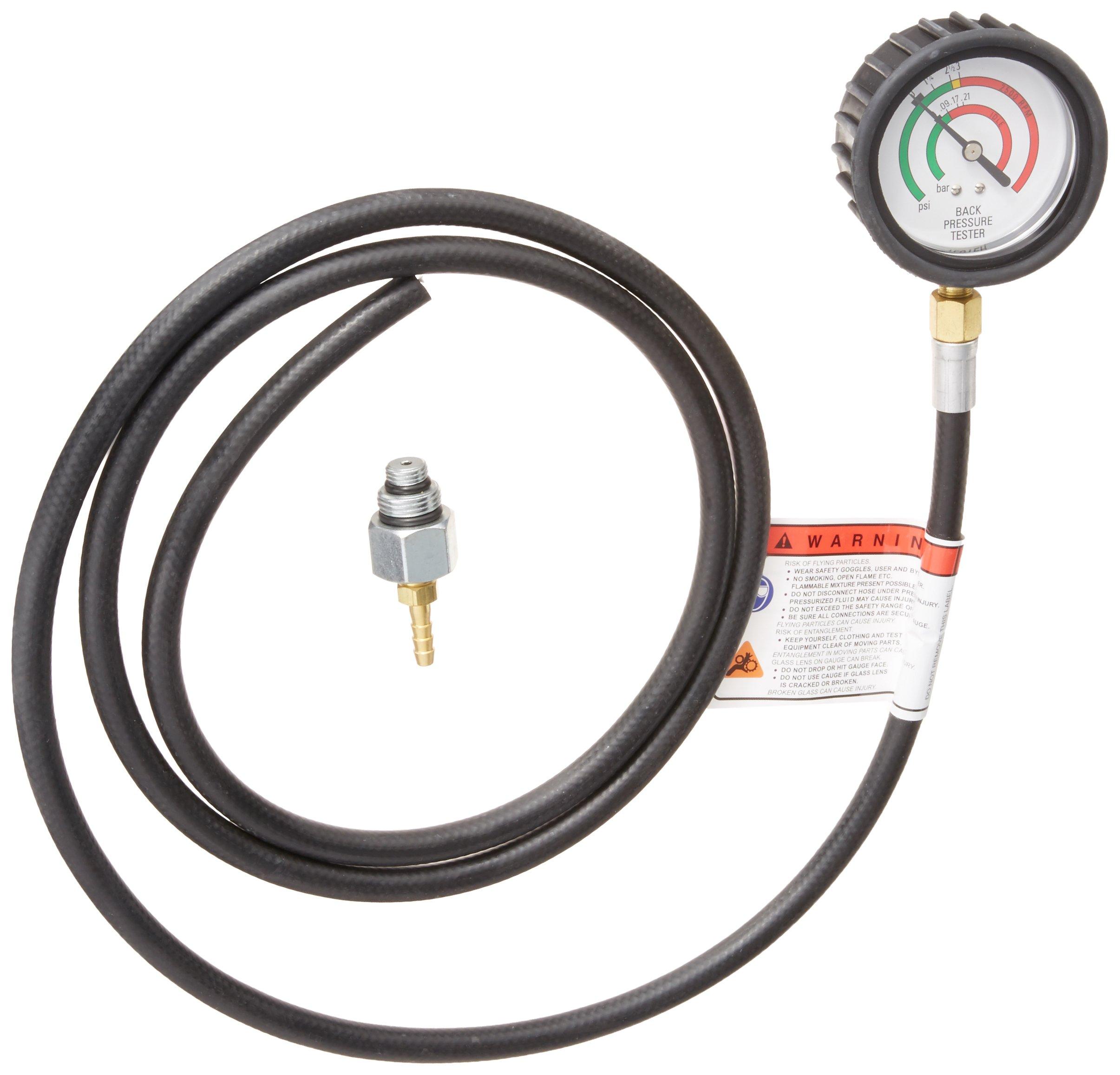 OEMTOOLS 27263 Exhaust Back Pressure Tester/Gauge