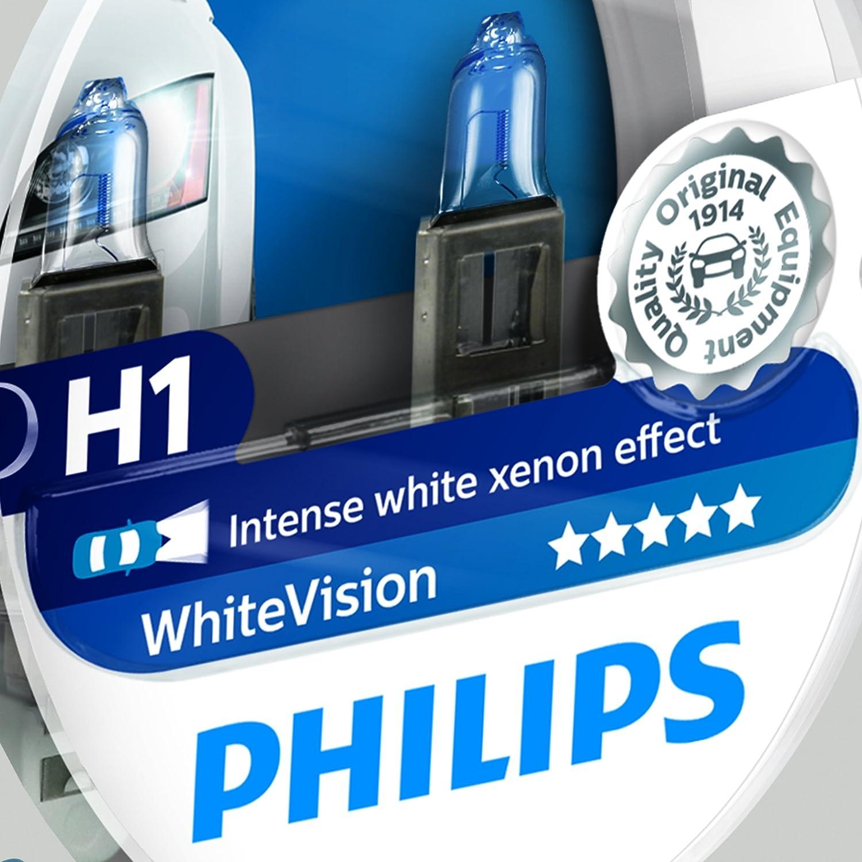 H13700 Efecto Con Unidades Whitevision Faros Xenon 12258whvsm Philips Bombilla Delanteros K2 Para KFlJ1c