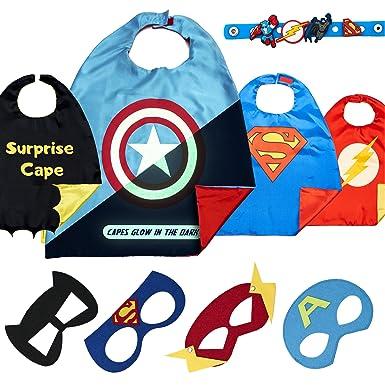 Amazon.com: Capas de superhéroes para juguetes de niños ...