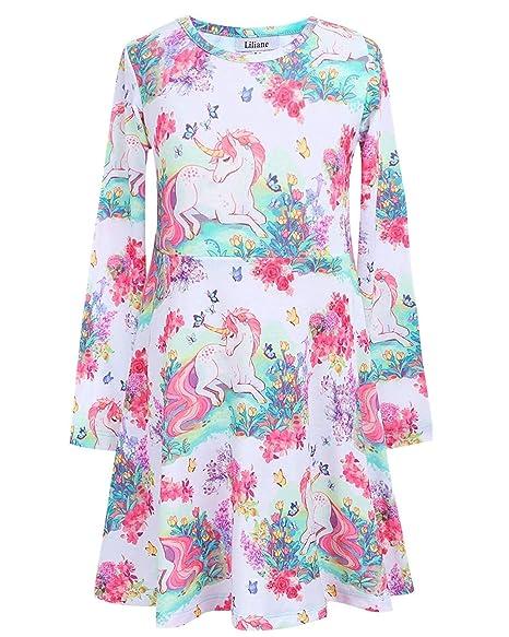 737d70f9d7f6 Amazon.com  Hometown Of Dreams Girls Winter Dresses Leggings ...