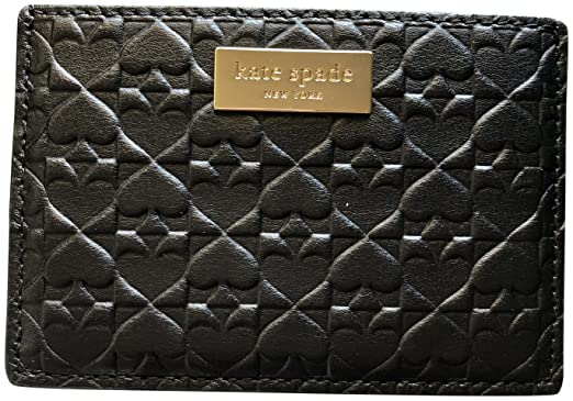 Kate spade graham embossed wallet business card holder credit card kate spade graham embossed wallet business card holder credit card case black colourmoves