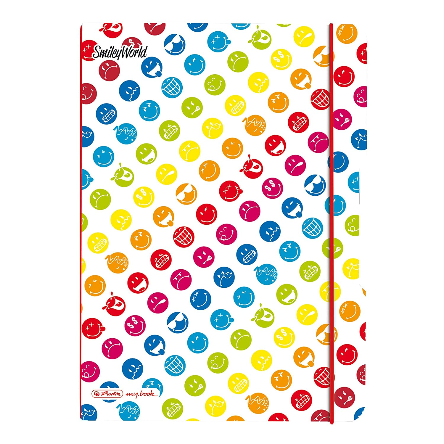 Herlitz Cahier De Notes Flex Motif Smileys 40 Pages Format
