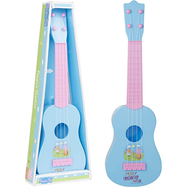 Peppa Pig - Guitarra de juguete , color/modelo surtido: Amazon.es ...