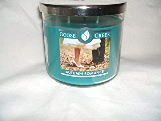 product image for Goose Creek AUTUMN ROMANCE 3 wick scented candle