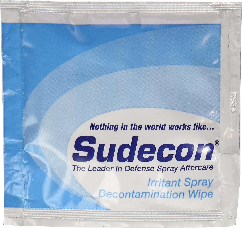 (12 ea.) Fox Labs, Sudecon - OC, CS, CN & Pepper Spray Decontamination Wipes: Health & Personal Care