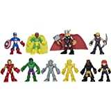 Playskool Heroes Marvel Super Hero Adventures Ultimate Super Hero Set, 10 Collectible 2.5-Inch Action Figures, Toys for…