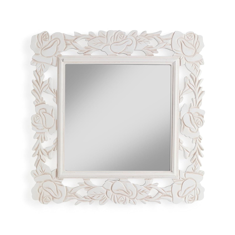 Specchio da parete bianco homcom armadio portagioie con - Specchio portagioie ikea ...