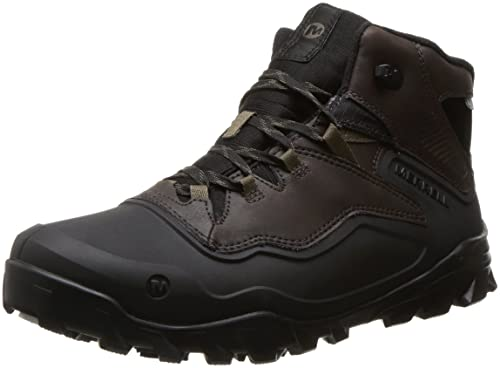 d038ea56f2a Merrell Men's Overlook 6 Ice+ Waterproof High Rise Hiking Boots
