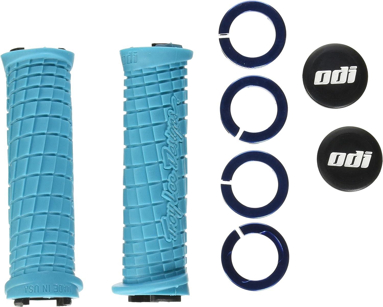 ODI TROY LEE Lock-ON Locking BMX MTB Mountain Grips Bonus Pack Pair RED