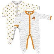 Luvable Friends Baby 2-Pack Snap Sleep N Play, Fox, 6-9 Months