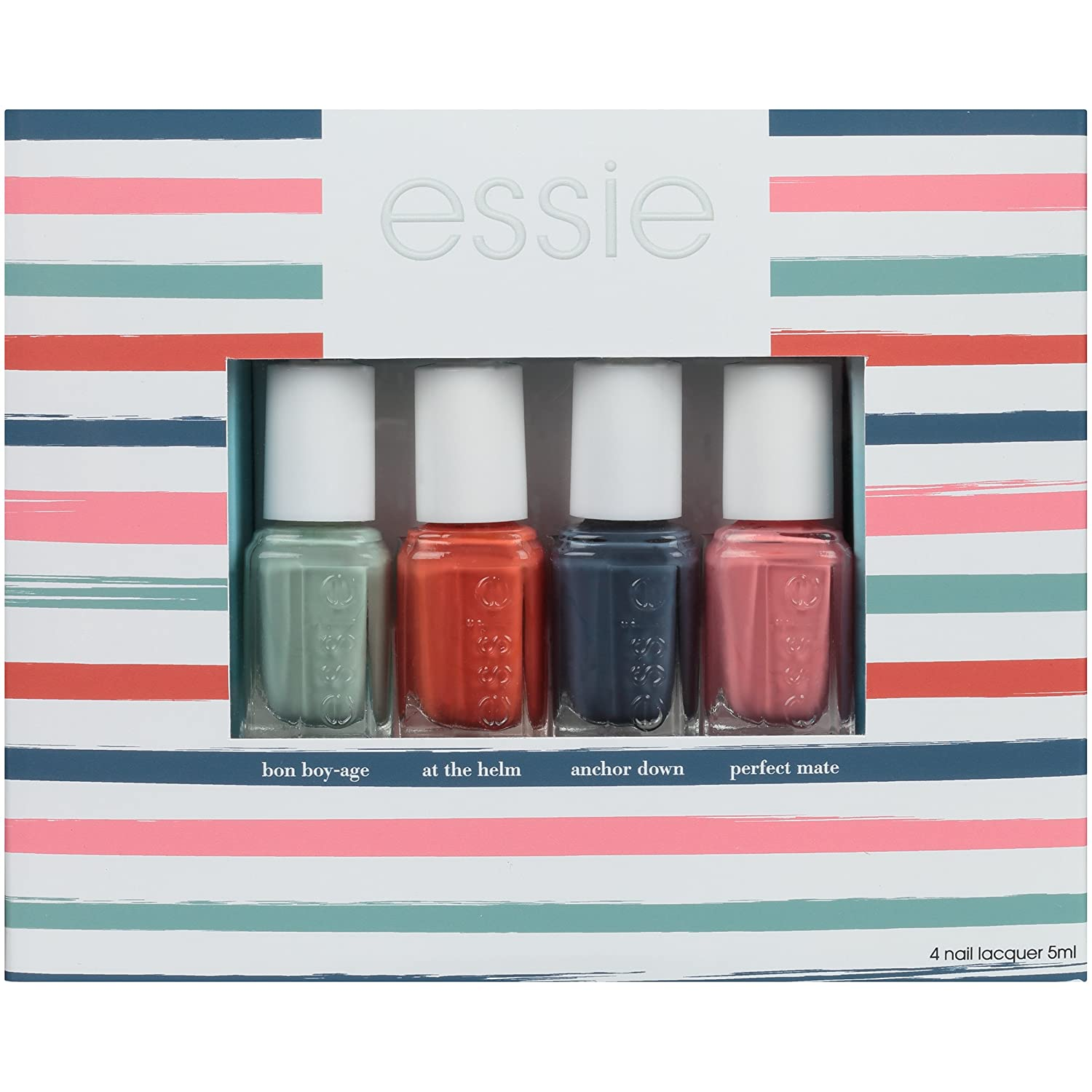 Amazon.com: essie Spring 2018 Nail Polish Collection, Set of 4 ...