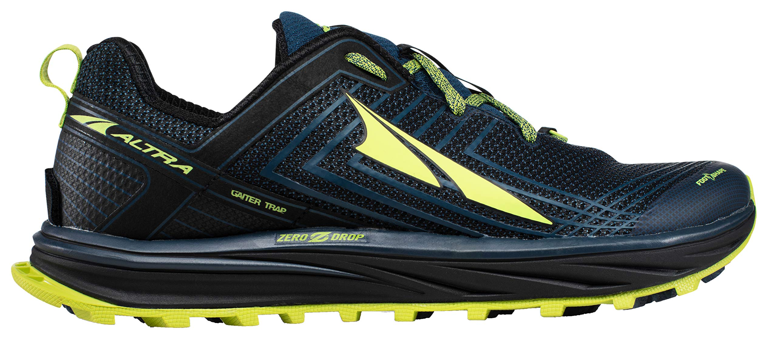 Altra AFM1957F Men's TIMP 1.5 Trail Running Shoe, Blue/Lime - 8 D(M) US