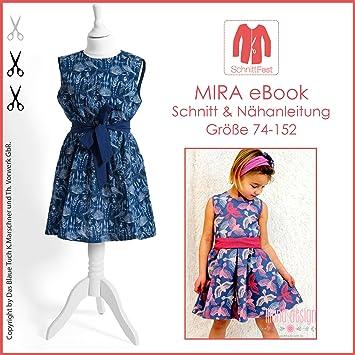 eBook Schnitt und Nähanleitung MIRA Gr.74-152 (CD): Amazon.de: Küche ...