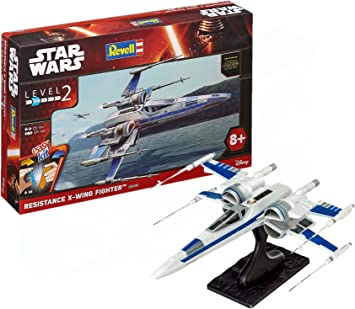 Revell 06696, Star Wars - Caza X-Wing resistencia, level 2: Amazon ...