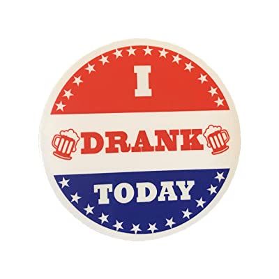 I Drank Today - Bumper Sticker Vinyl Decal: Arts, Crafts & Sewing