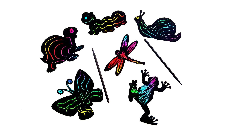 Magic Color Scratch Art (Sea Life) Dondor