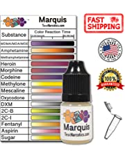 Test Narcotics - Marquis Reagent Drug Testing Kit | 7ml Bottle for up to 140 Individual Tests - MDMA, Molly, Ecstasy, and More.