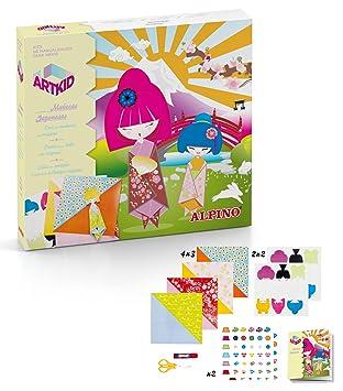 Alpino Munecas Japonesas Con Origami Set De Manualidades Art Kid