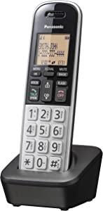 Panasonic Compact Cordless Phone with DECT 6.0, 1.6