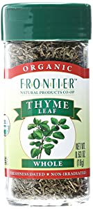Frontier Herb Organic Whole Thyme Leaf, 0.8 oz