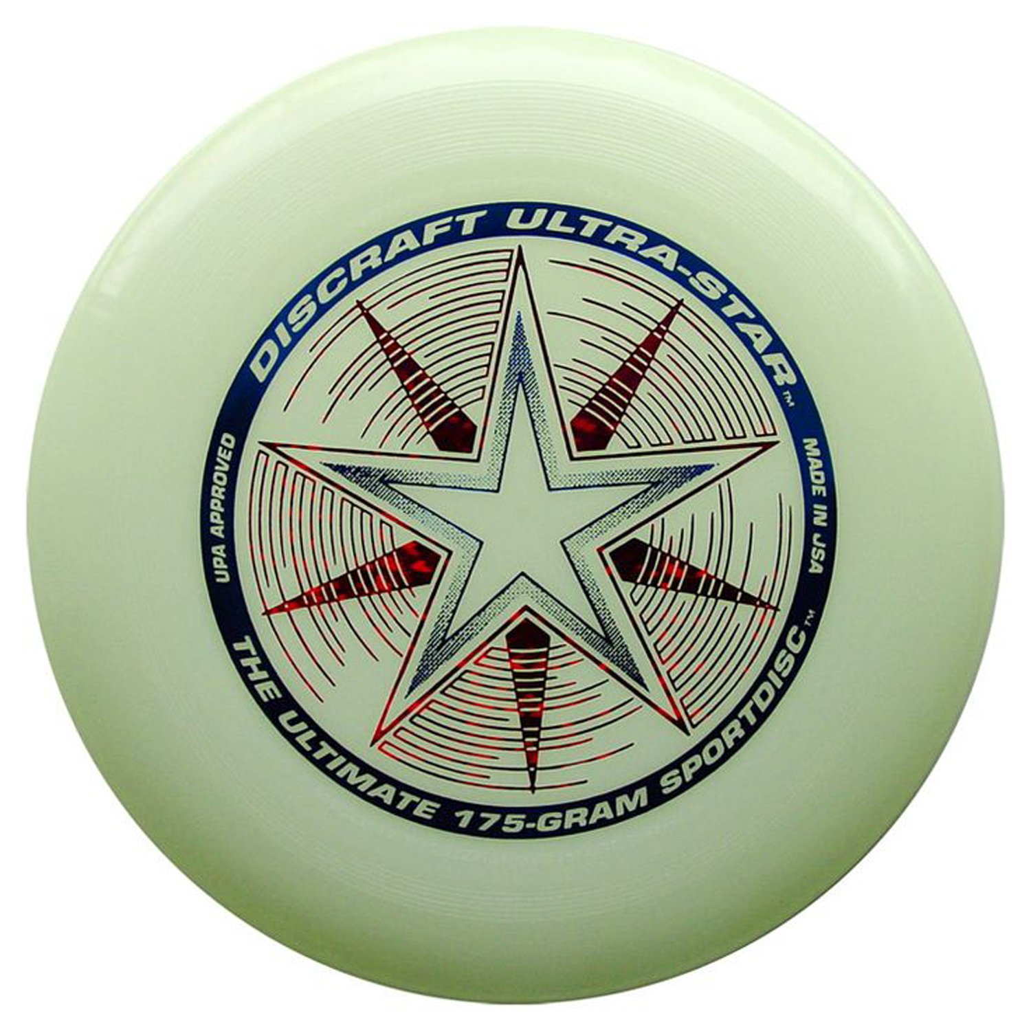 Discraft 175g Ultimate Disc Bundle (3 Discs) Black, Yellow & Glow by Discraft (Image #4)