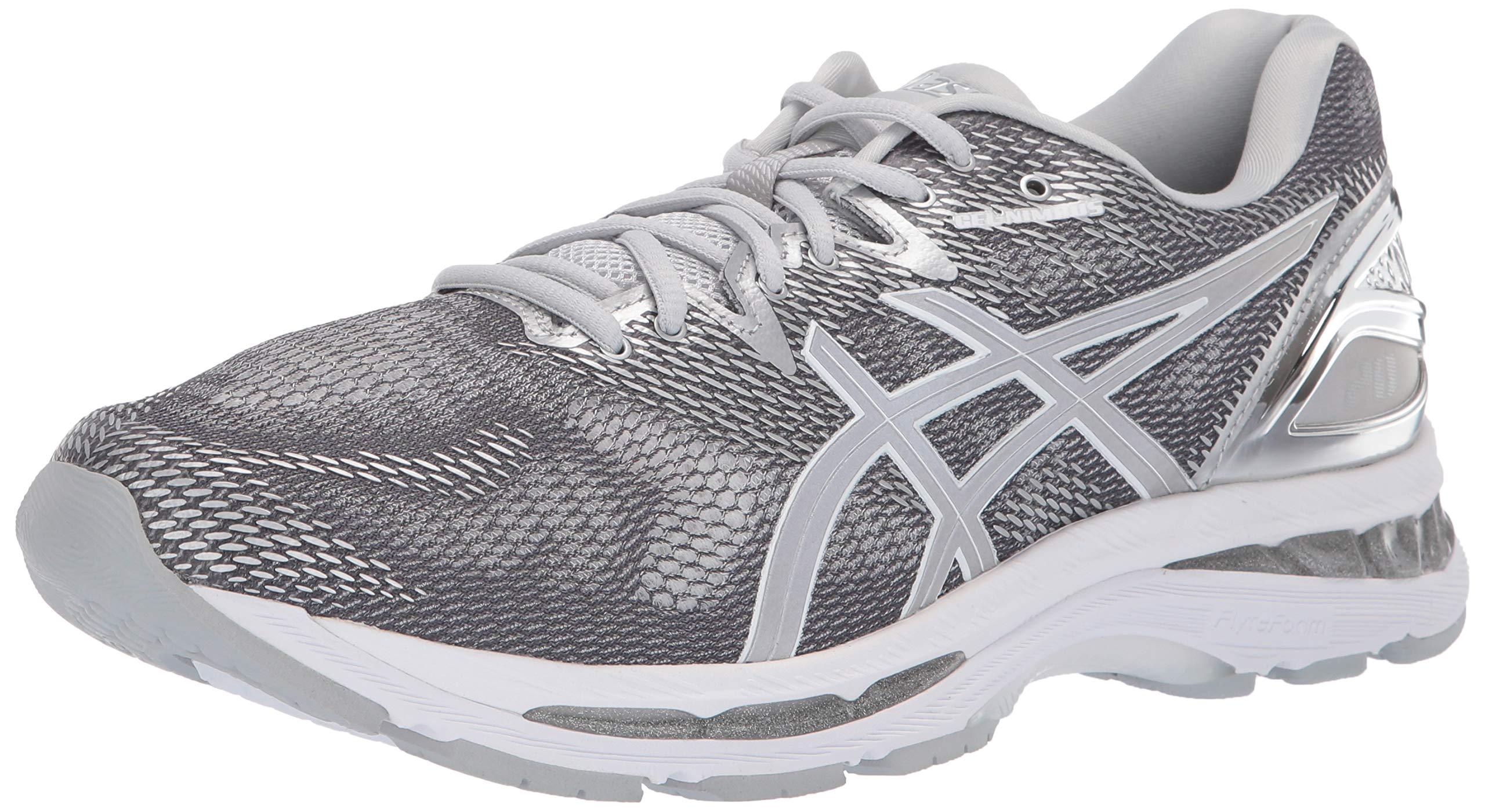 ASICS Mens Fitness/Cross-Training Trail Running Shoe, Carbon/Silver/White, 14 Medium US