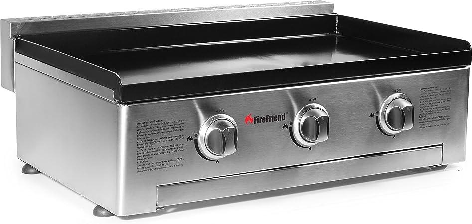Fire Friend Bq6395f Plancha Inox à Gaz 73 X 525 X 255 Cm