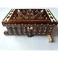 Enorme caja puzzle de rompecabezas caja de joyería mágica regalo tesoro premium nueva caja muy grande caja de misterio…