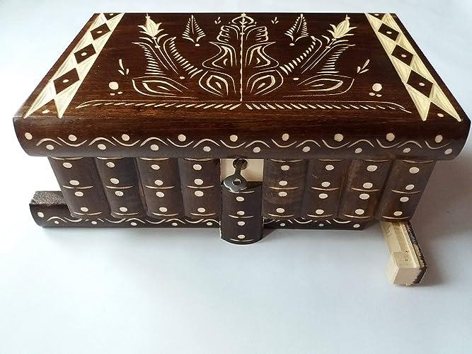 Enorme caja puzzle de rompecabezas caja de joyería mágica regalo tesoro premium nueva caja muy grande