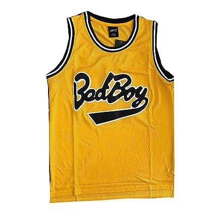 cdbfe393f Amazon.com   AIFFEE  BadBoy   72 Smalls Basketball Jersey S-XXXL ...