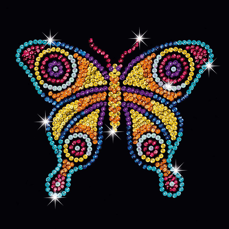 Sequin Art Style 1324 Butterflies